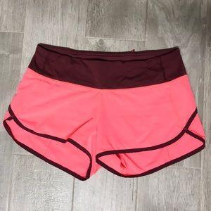 """Lulu lemon speed up 2.5"""" shorts!"""